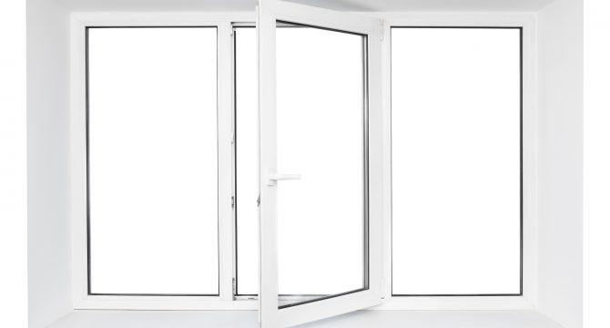 white triple pane windows